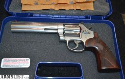 """For Sale: Smith & Wesson 686 + Deluxe 6"""" 7-Shot"""