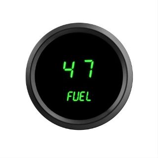 Sell 52mm 2 1/16 in Digital FUEL GAUGE Intellitronix GREEN LEDs! Black Bezel Warranty motorcycle in Eastlake, Ohio, United States, for US $40.96