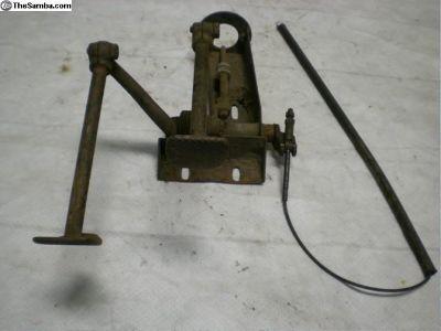 porsche 356 brake and clutch pedal system