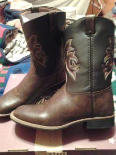 Western Youth Boy's Boots/ New