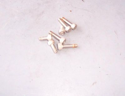 Sell SUZUKI GSXR1300 1300 HAYABUSA 01-07 06 FUEL GAS LID PETRO BOLTS ID028 motorcycle in Bradenton, Florida, US, for US $5.00