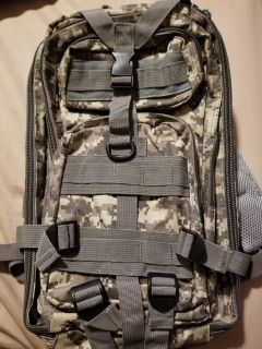 NWOT Military Style Backpack