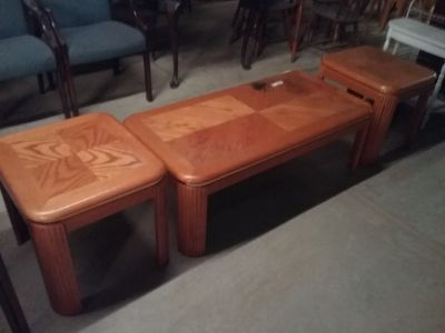 Coffee/End table 3 pcs.