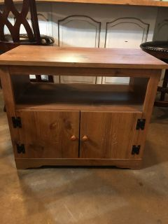 Tv stand or night stand. Not wood