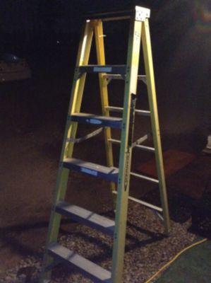 6' Werner a-frame ladder