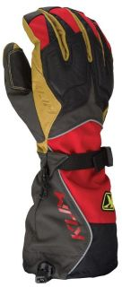 Find 2013 Klim Men's Summit Snowmobile Gore Tex Glove Red XS motorcycle in Ashton, Illinois, US, for US $145.99