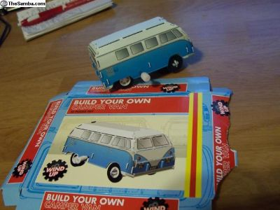 VW bus camper TO BUILD / & built.!