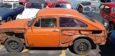 Parting out 1970 fastback