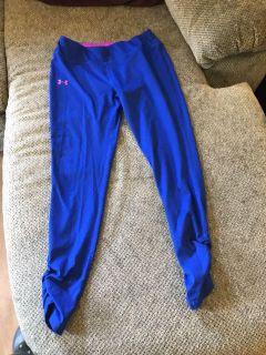 Under armor youth extra large fitted all season gear Workout pants