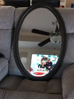 Large Oval mirror from kirklands