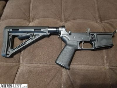 For Sale: Ar 15 lower with timney trigger