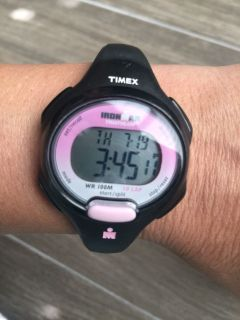 Timed watch