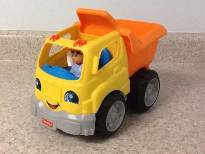 Fisher Price Little People Dump Truck. Says several phrases & makes several sounds. See additional pics.