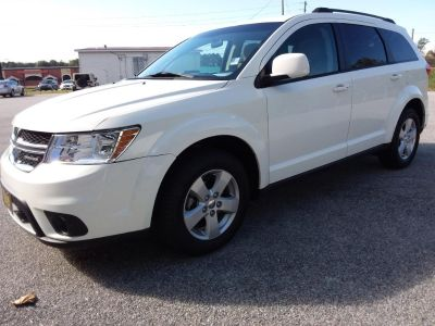 2012 Dodge Journey SXT (White)
