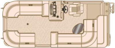 2019 Sylvan Mirage 820 CRS Pontoons Boats Hutchinson, MN