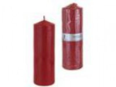 Mega Candles - Unscented quot x quot Round Pillar Candle - R