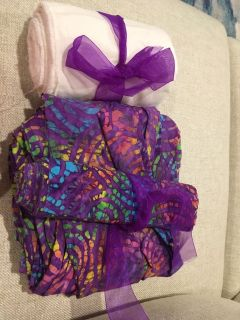 Belly wrapping fabric