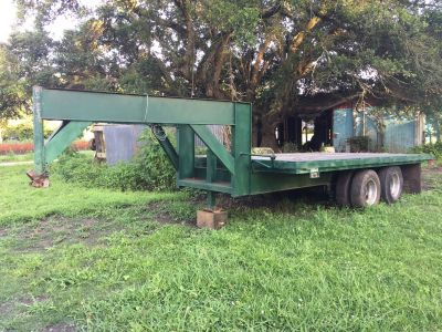 16 heavy duty hydraulic tilt trailer