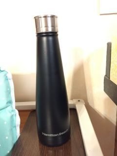 Black Hamilton Beach Stainless Steel Water Bottle