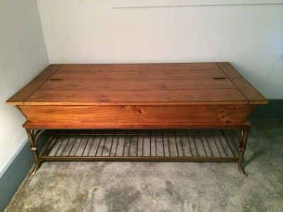 Coffee/Storage Table with Two Matching End Tables
