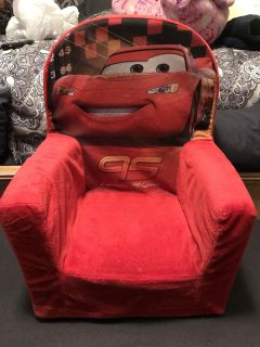 Cars toddler chair
