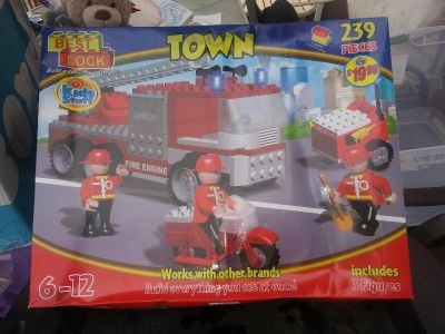 Lego building town