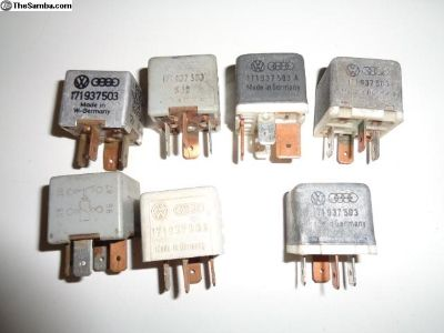 Vanagon Bug Load Reduction Relays 171937503
