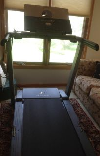 The Nordic Track Treadmill lightly used