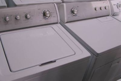 Washer Dryer Set-Silver face Set By Whirlpool