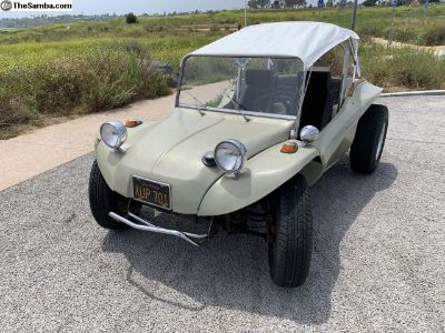 1968 Dune Buggy original gel coat California car