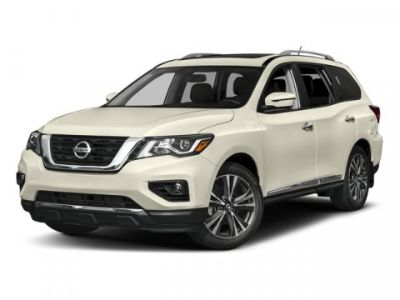 2017 Nissan Pathfinder Platinum (Cayenne Red Metallic)