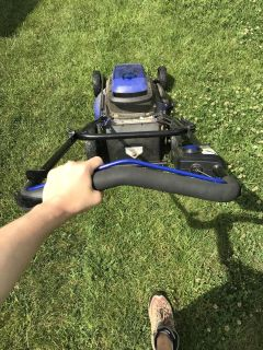 BOSCH battery operated lawn mower