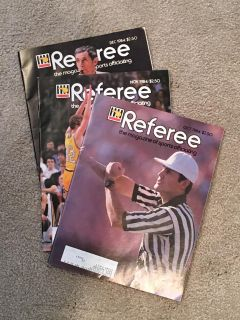 Referee Magazine with Holders
