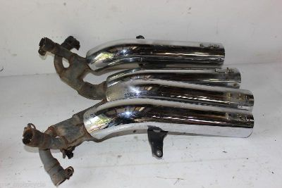 Purchase HONDA SUPER MAGNA 750 700 VF700 VF750 EXHAUST PIPES PIPE MUFFLER 10K 87 88 motorcycle in Vancouver, Washington, US, for US $250.00