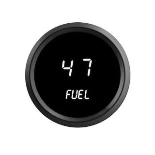 Purchase 52mm 2 1/16 in Digital FUEL GAUGE Intellitronix WHITE LEDs! Black Bezel Warranty motorcycle in Eastlake, Ohio, United States, for US $40.96