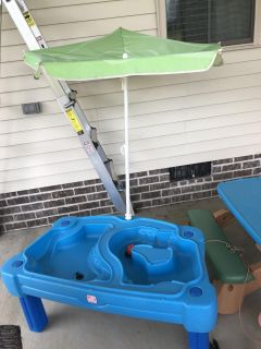 Free water table.