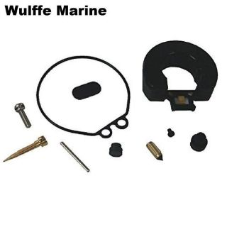 Purchase Carburetor Kit with float for Yamaha 6 Hp 8 Hp 18-7765 Replaces 6G1-W0093-00-00 motorcycle in Mentor, Ohio, United States, for US $31.49