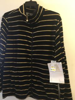 Beautiful NWT ONQUE Top/Jacket 2X