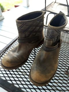 Lucky womens vintage style boots