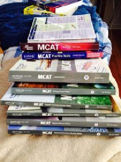 $50 OBO MCAT Test Prep Books (Kaplan and The Princeton Review)