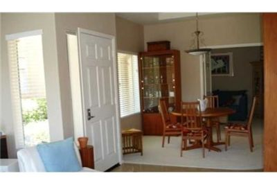 AVAILABLE 7/15 Fully furnished lower floor condominium.