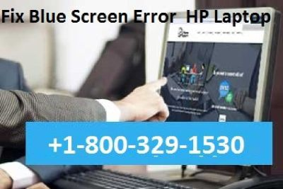 hp laptop blue screen windows 10