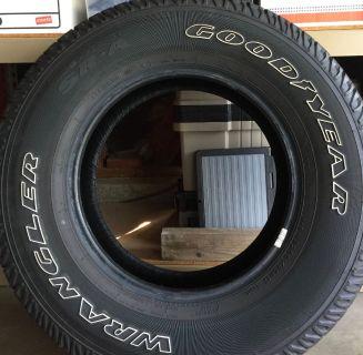 5 Wrangler Tires