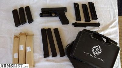 For Sale: Glock G17 Gen4 with Tactical Solutions 22 upper