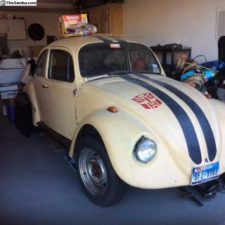 1969 Partially converted Baja Bug