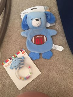 New crunchy baby toy and rattle