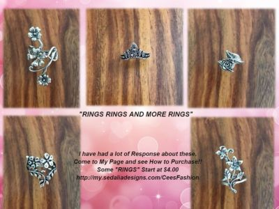 Flower Rings - C's Fashion Jewelry