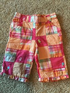 Gymboree ice cream patchwork lined pants size 18-24 mos