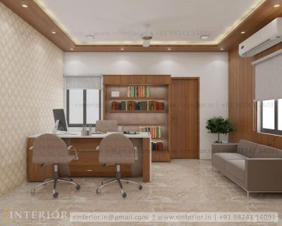 New Look Commercial Interior Design in India by R-Interior