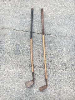 Wood golf clubs- old